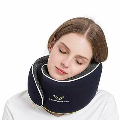 ComfoArray Travel Pillow, Neck Pillow for Airplane and Car. New Upgrade in
