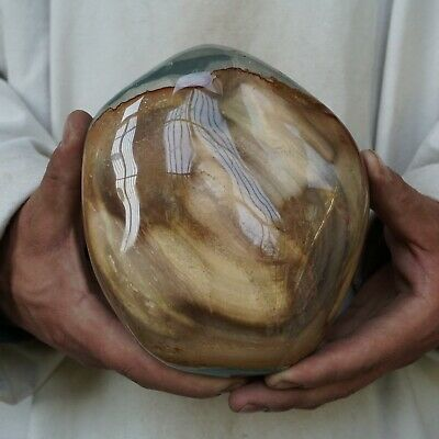 "5LB 5.8"" Natural Polychrome Jasper Quartz Crystal Gem Stone Polished Healing"