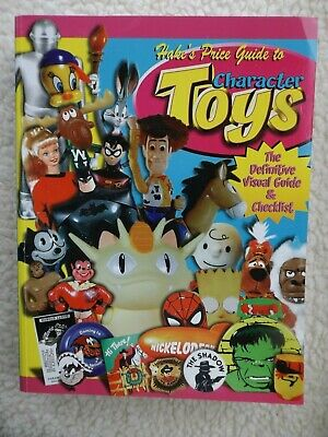 . Hake's Price Guide to Character Toys 3rd Edition -Gemstone (2000)  EXC