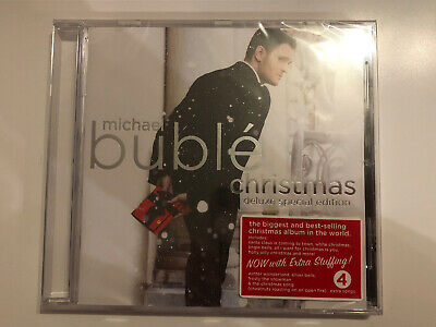 Brand New Michael Buble Christmas Cd Album Special Edition With 4 Bonus Tracks