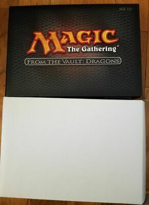 MTG Magic the Gathering From the Vault Dragons Boxed Set NEW FACTORY SEALED