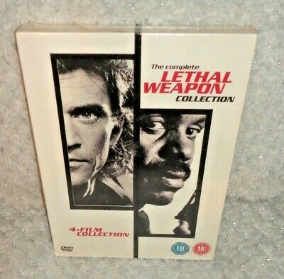 The Complete Lethal Weapon Collection (DVD, 4-Disc) NEW & SEALED