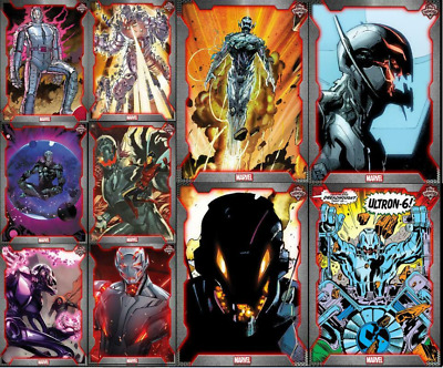 Topps Marvel Collect Card Trader Showcase Ultron [Set 10 Cards]