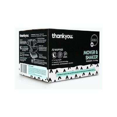 Thankyou Mover & Shaker Nappies 72 Pack - 10-15kg