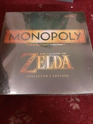 Monopoly Zelda board game. Brand new and sealed