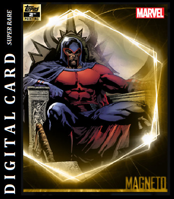 Topps Marvel Collect Card Trader Ultimate Universe 2Nd Printing Magneto