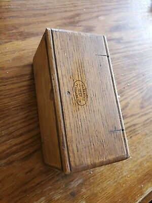 1889 antique FOLDING WOOD SINGER SEWING BOX w ACCESSORIES