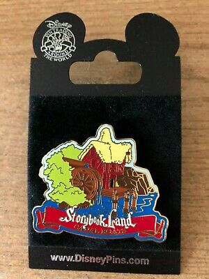 DISNEY Pin 54798 DLR - Storybook Land Canal Boats Series #3 - The Mill