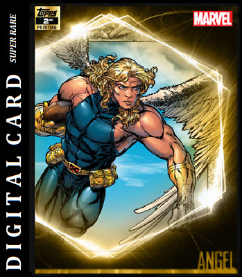 Topps Marvel Collect Card Trader Ultimate Universe 2Nd Printing Angel
