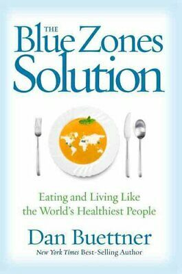 Blue Zones Solution by Dan Buettner 9781426216558 | Brand New | Free US Shipping