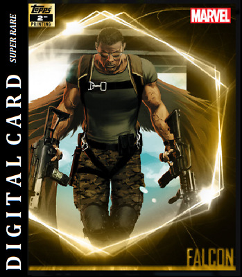 Topps Marvel Collect Card Trader Ultimate Universe 2Nd Printing Falcon