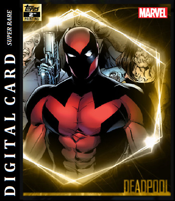 Topps Marvel Collect Card Trader Ultimate Universe 2Nd Printing Deadpool