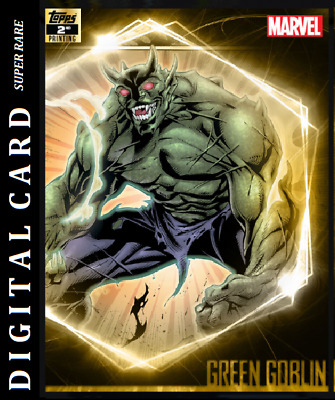 Topps Marvel Collect Card Trader Ultimate Universe 2Nd Printing Green Goblin
