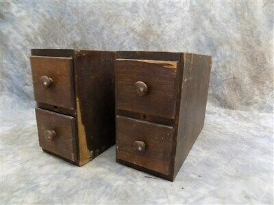 4 Sewing Machine Treadle Cabinet Drawer Singer Sign Wood Cubbyhole Cabinet a79
