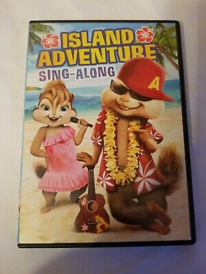 Alvin And The Chipmunks Island Adventure sing-along dvd