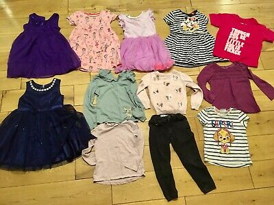 Girls Age 3-4 Years Bundle Next Bluezoo Monsoon Shakespeare Party Dress Jeans