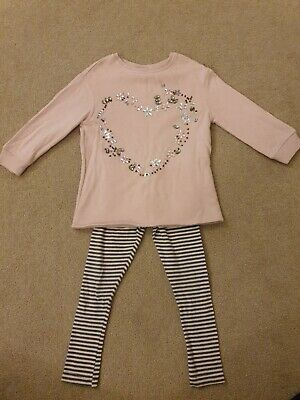 Girls Next Pink Leggings Outfit 3 Years