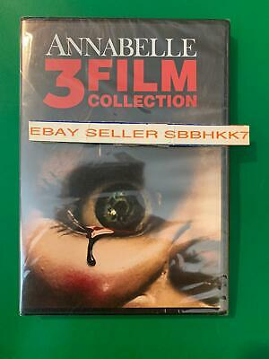 Annabelle Trilogy DVD (2019) 3 movie Film collection Brand New Sealed Free Shipp