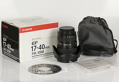 Canon EF 17-40mm F4 L USM Wide Angle Zoom Lens with Hoya Pro Digital UV filter