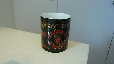 Manchester United mug : 1994 FA Cup. Black/red/gold. Really beautiful design.