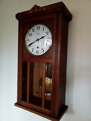 vintage french vedette westminster chimes wall clock