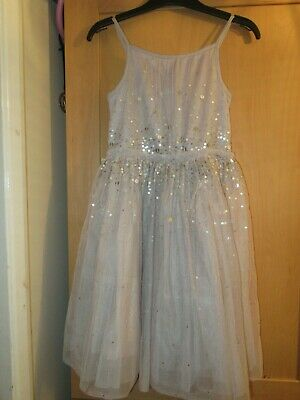 NEXT AGE 6 YEARS NET SEQUIN PARTY DRESS christmas