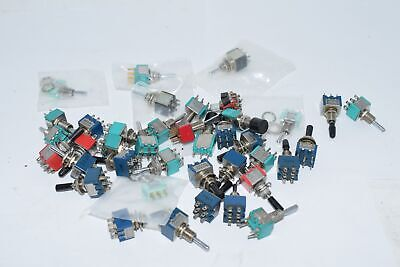 Mixed Lot of NEW & USED Miniature Toggle Switches