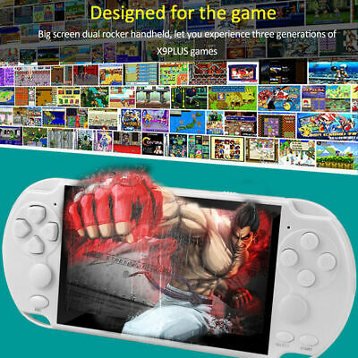 """5.1"""" PSP Video Game Console Player 128 Bit Built-In 10000 Game Portable Handheld"""