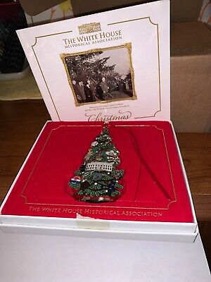 WHITE HOUSE HISTORICAL ASSOCIATION CHRISTMAS ORNAMENT 2015 In Box.