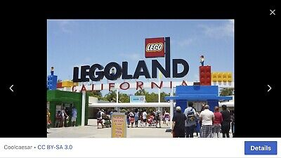 4 LEGOLAND California 1-Day Sea Life Hopper Tickets Valid Until March 1, 2020