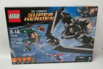 LEGO 76046 Super Heroes of Justice: Sky High Battle *BRAND NEW* FAST SHIP