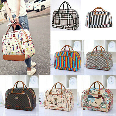 Womens Ladies Travel Bag Holdall Hand Luggage Weekend Gym Carry on Handbag Tote