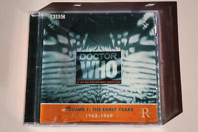 DOCTOR DR WHO: Volume 1 - The Early Years 1963-1969 CD SOUNDTRACK DALEKS RARE