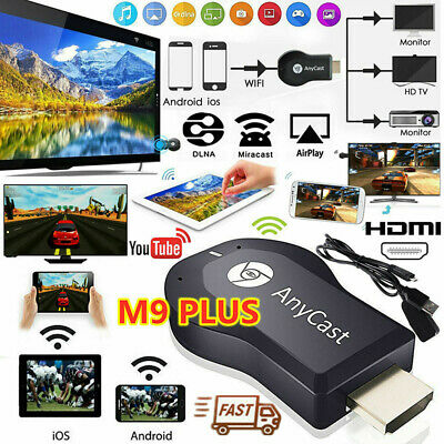 AnyCast M9 Plus WiFi Display Receiver HDMI Dongle 1080P TV DLNA Airplay MiraWFI