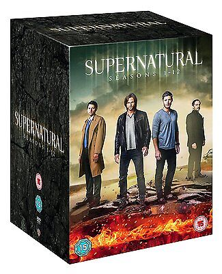 Supernatural Seasons 1-12 Complete Dvd Box Set New And Sealed Series