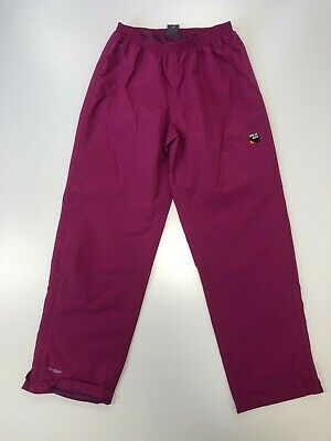 F263 Boys Spray Way Red Ankle Zip Hiking Walking Trousers Age 12-13 W28 L28