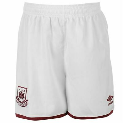 West Ham Home Shorts  Childrens 100% Official WHU UMBRO All Sizes Football Short