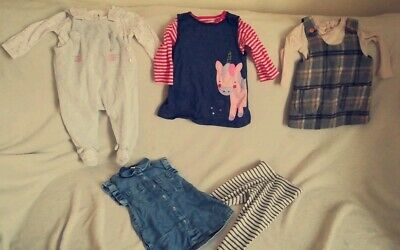 Baby Girls 3-6 Months outfits Bundle