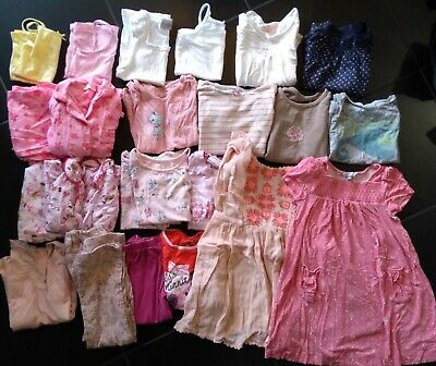 Girls clothes bundle 3-4 years, John Lewis dress, M&S & Next trousers/top