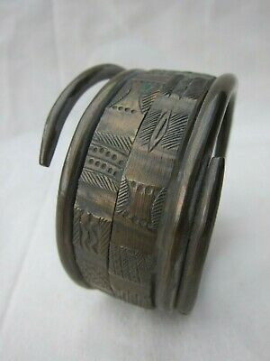 Genuine bronze bracelet from the TEKE, DR Congo