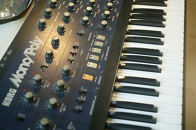 Korg Mono/Poly Collectors Classic Analog Synthesiser Monopoly Analogue