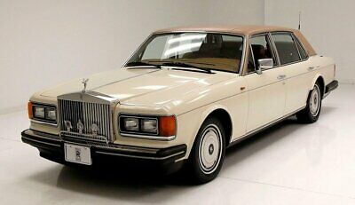1989 Rolls-Royce Silver Spur LWB Saloon Nice Magnolia Respray Leather and Burl Interior Clean Engine Bay Smooth Riding