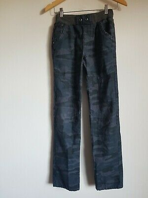 Boys Navy Combat Style Trousers George Age 12-13 Years <SS245