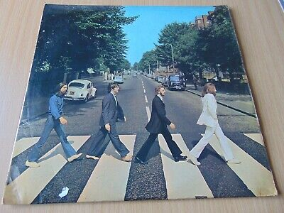 Rare Mispressing Beatles Abbey Road Lp Pcs 7088 Stereo 1969 Xex 749-2 / 750-1