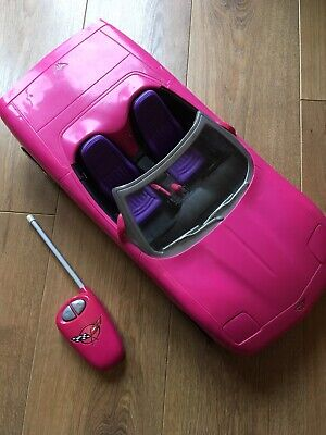 Barbie Car With Remote Control