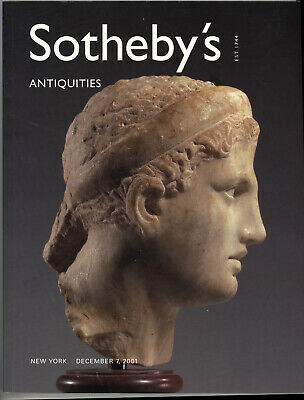 Sotheby's 2001 Ancient Greek Roman Gold Antiquities Jewelry Auction Catalog Book