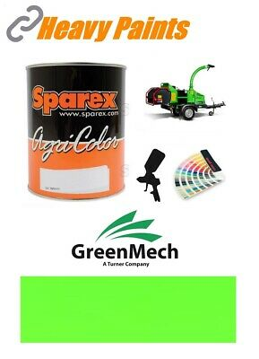 Greenmech Wood Chipper Green Paint High Endurance Enamel Paint 1 Litre Tin