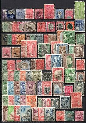 collection of 150 used QV-QEII commonwealth stamps