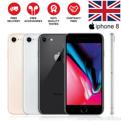 Apple iPhone 8 64GB 256GB Space Grey Silver Gold Unlocked Smartphone Sealed Box