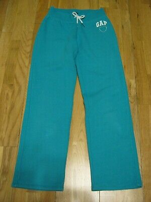 Girl's Green Jogging Bottoms/ Trousers by Gap.  Age 8-9 Year.  Size M